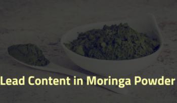 Lead content in moringa leaf powder
